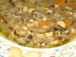 black-eyed pea soup (vegan)