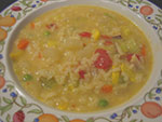 vegetable chowder (vegan)