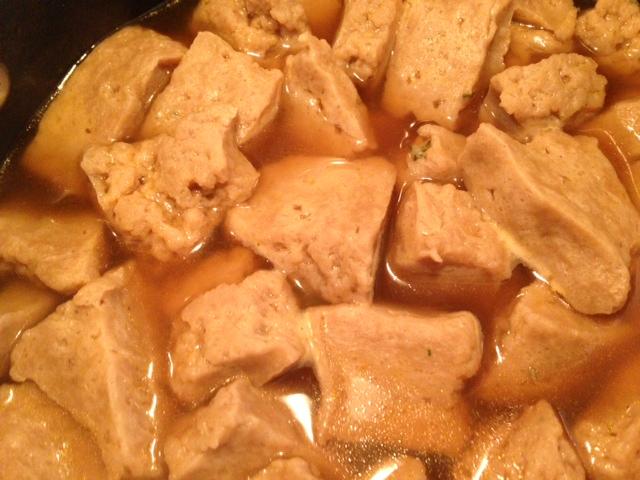 seitan – easy to make and delicious (vegan)