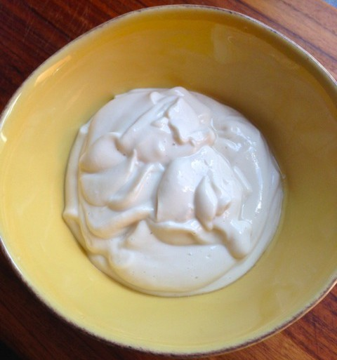 vegan sour cream using tofu